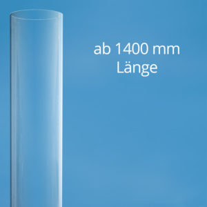 Polycarbonat Tube transparent up to 1401 mm