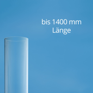 Polycarbonat Rohr transparent bis 1400 mm