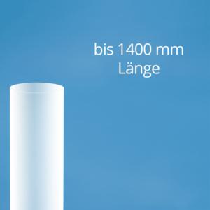 Plexiglas Rohre satiniert bis 1400 mm